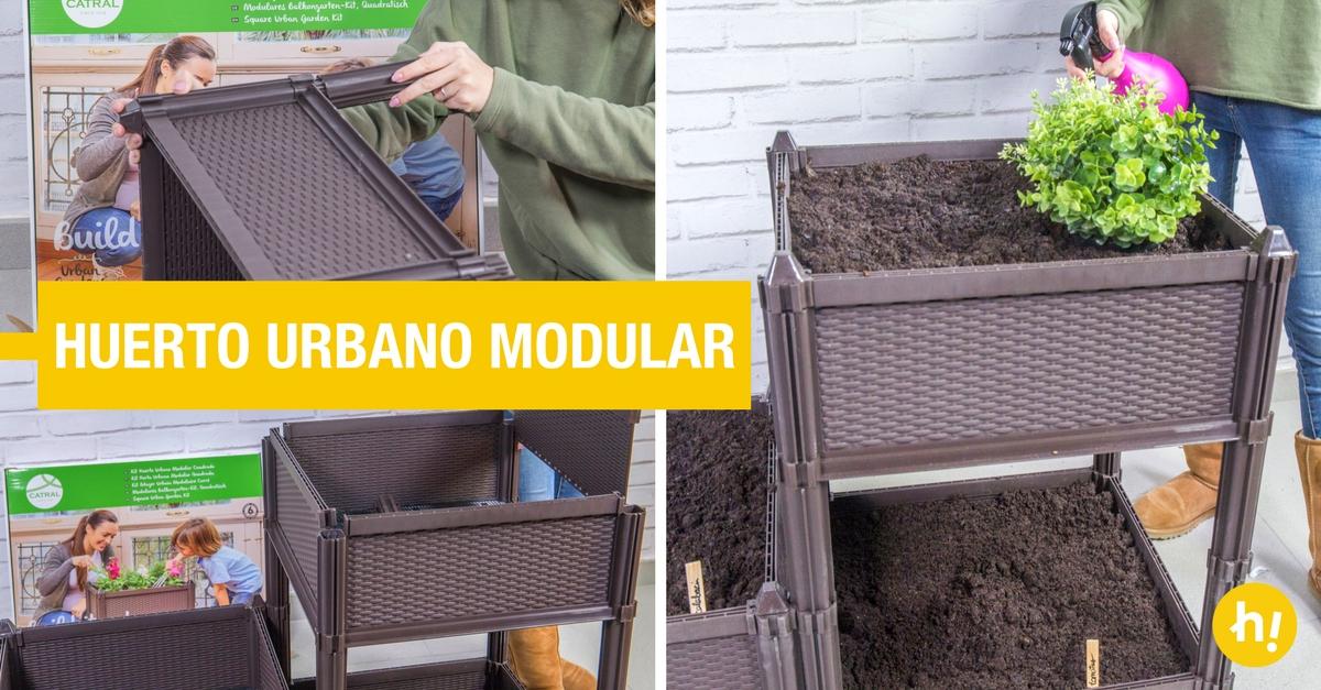 Huerto urbano modular para cultivar handfie diy - Huertos urbanos ikea ...