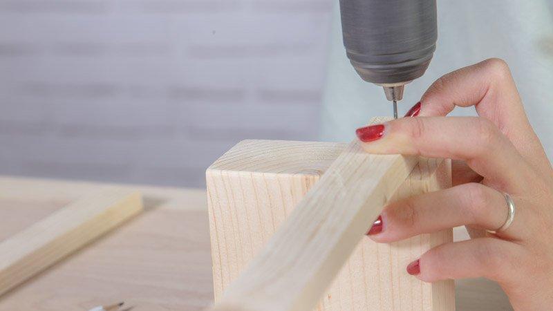 Montaje de la estructura de madera