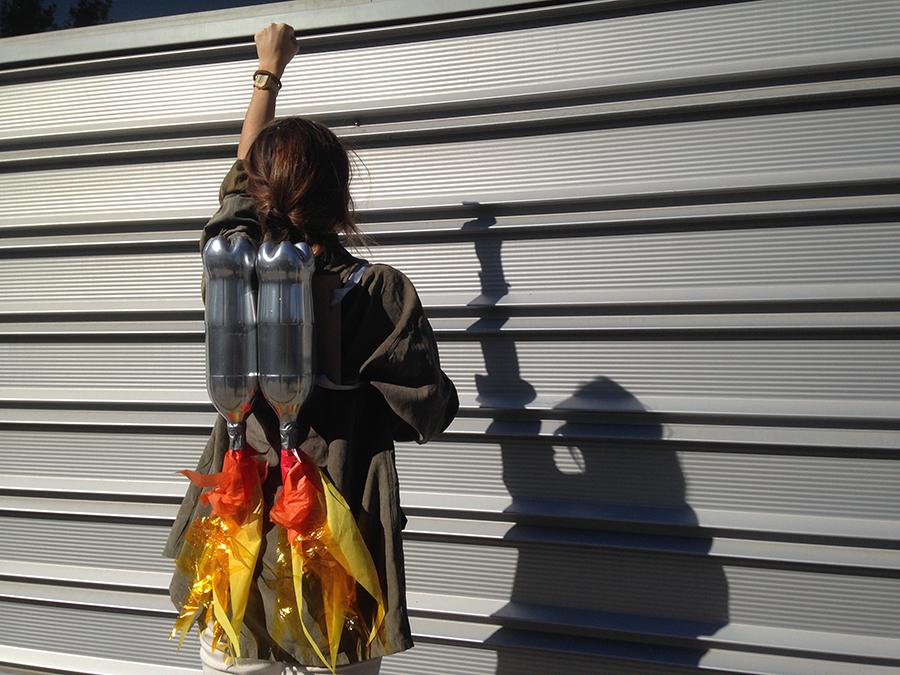 Disfraces caseros para niños: traje espacial