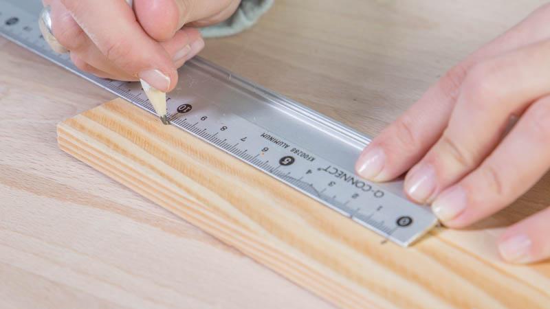 Creación de la base de madera