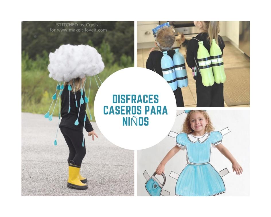 Disfraces Caseros Para Niños Sencillos Divertidos Y Originales