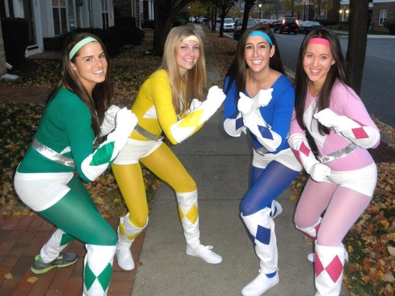 Disfraz de Power Rangers para Carnaval