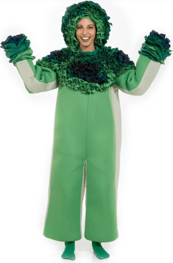 disfraz original de brócoli