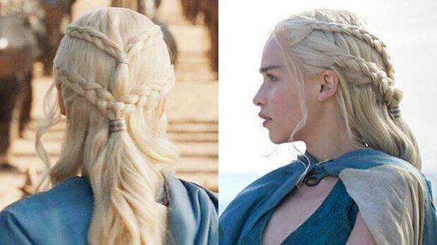 Pelo de Khaleesi para disfraz