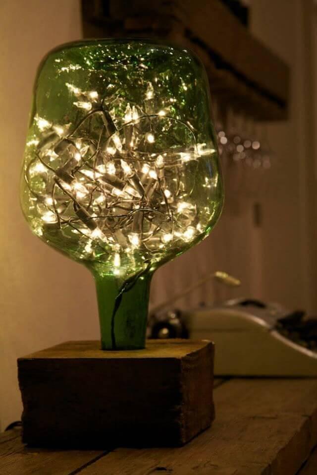 21d33c07c3a Decorar con guirnaldas de luces  ideas para reusar tus luces de Navidad