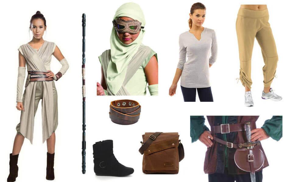 disfraces originales para ser Rey, la heroína de Star Wars