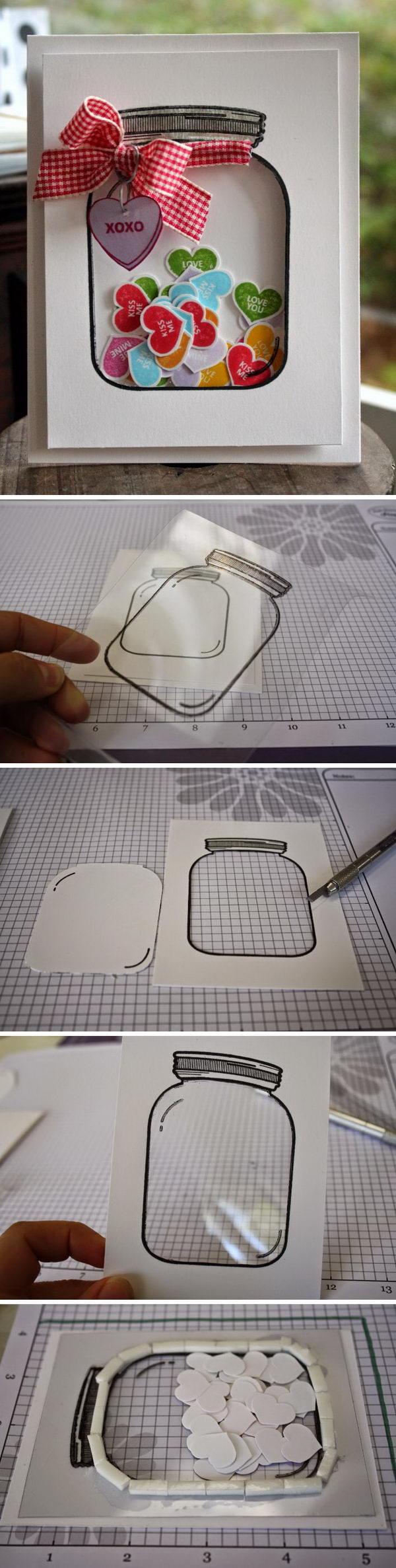 Tarjeta artesanal