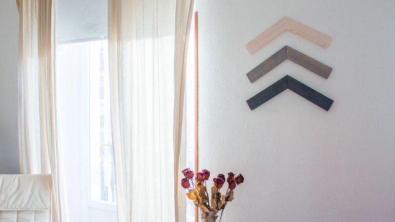Adorno geométrico para la pared