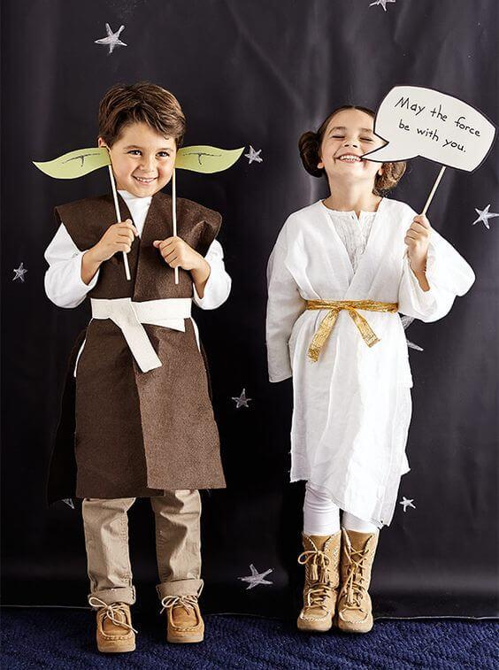 Photocall de Star Wars para cumpleaños infantiles