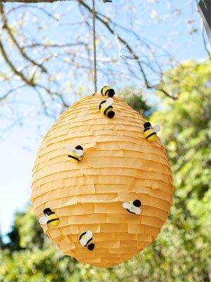 Piñata colmena de abejas