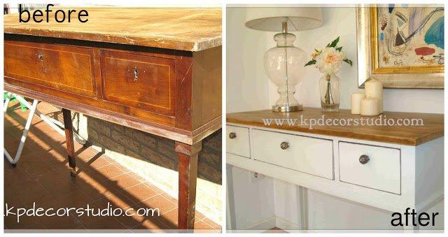 Restaurar muebles antiguos 9 ideas para reciclar muebles