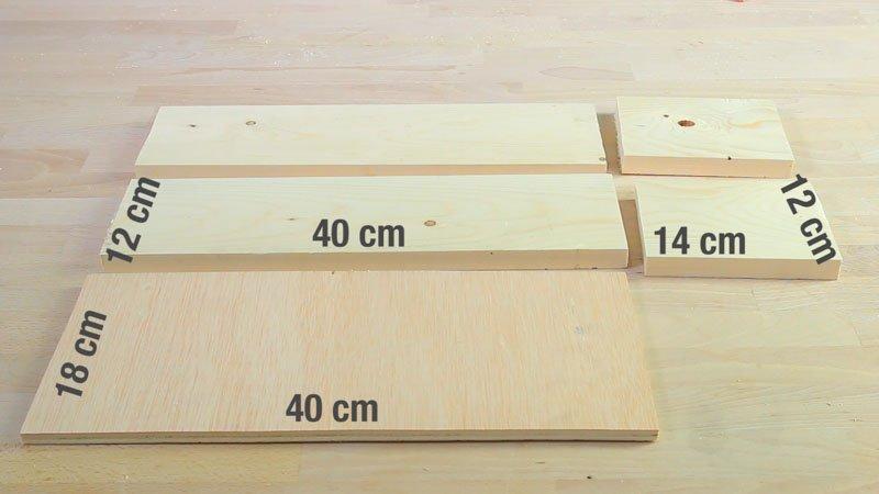 Medidas de la jardinera de madera