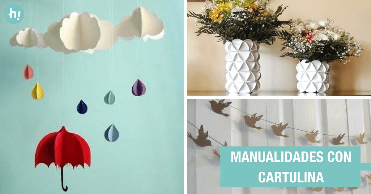 12 manualidades con cartulina que llenarn de estilo tu casa