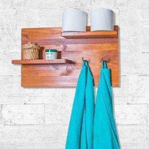 Como hacer una repisa de madera para el baño