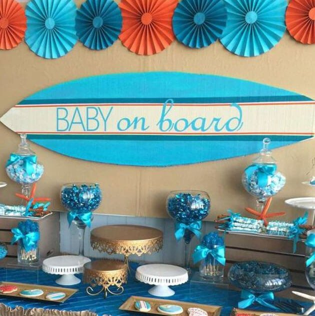 Decoración Baby Shower manualidades para celebrar un