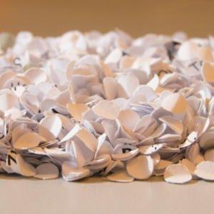 Manualidades con papel periodico