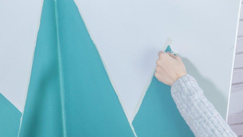 C mo pintar una pared manchada y hacer una pizarra - Pintura de pizarra para pared ...
