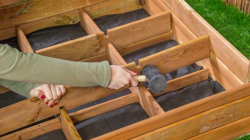 Montaje separadores huerto urbano seed kit