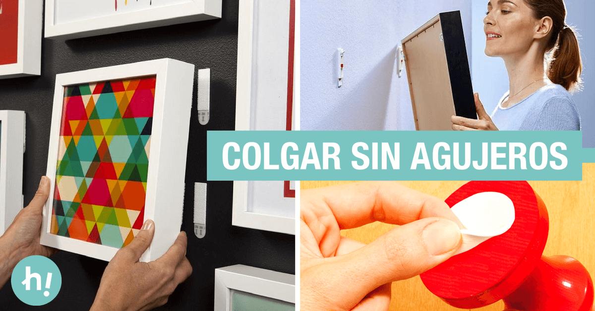 Colgar cuadros sin clavos ni agujeros: cómo colgar un cuadro sin daños