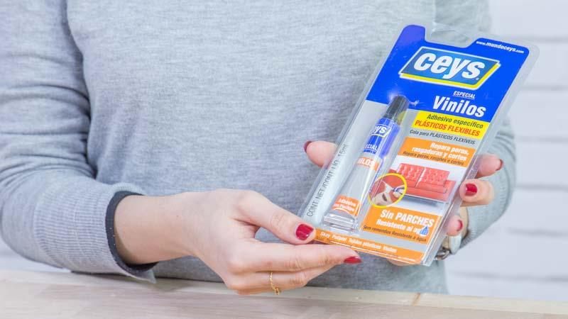 Adhesivo para pegar vinilos de ceys