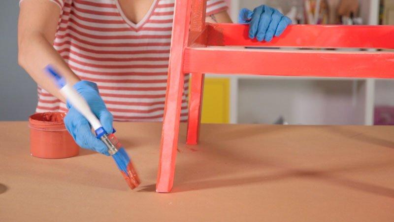 Taburete BEKVÄM de Ikea personalizado