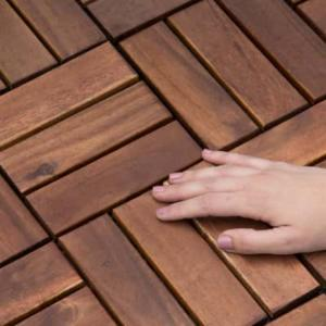 Suelo de exterior de madera de Catral