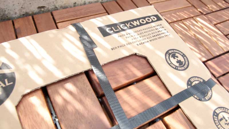 Packaging clickwood de Catral