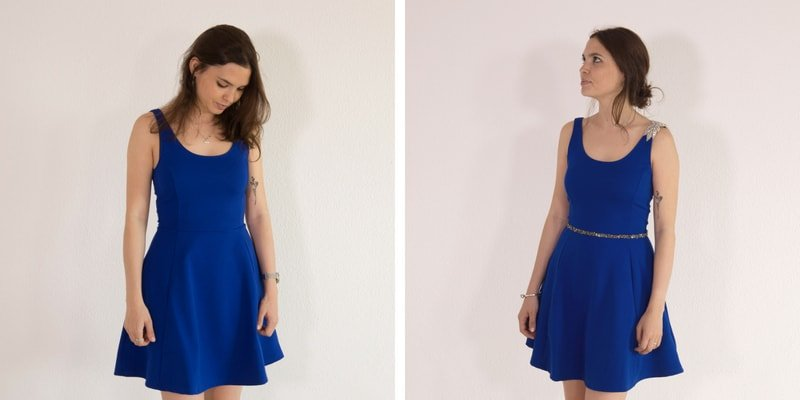 Hacer un vestido de fiesta sencillo