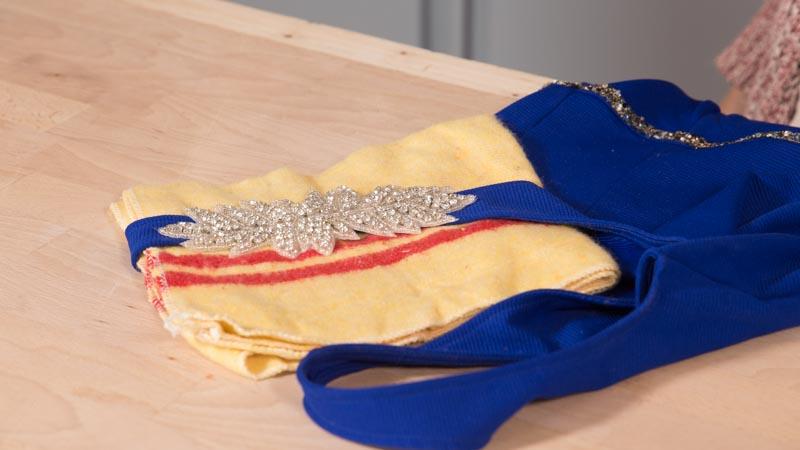 Aplique de strass para vestidos