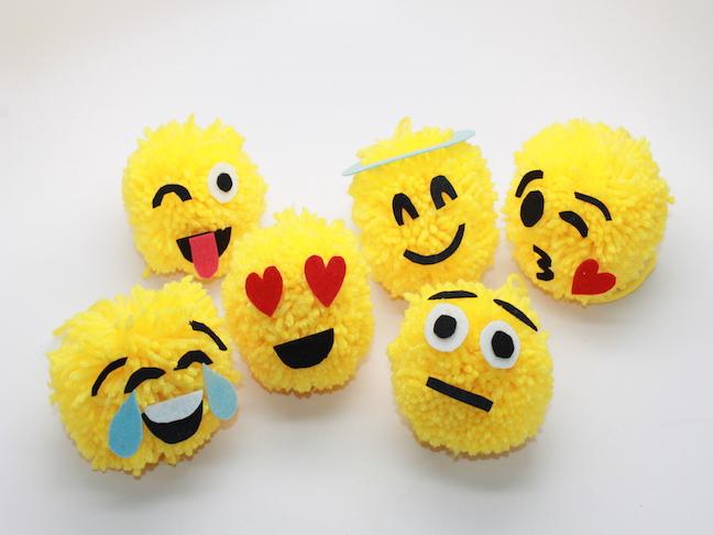 Cómo hacer emojis con lana