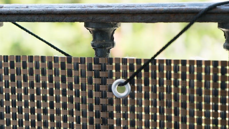 Ojales de aluminio de la malla balcony de catral