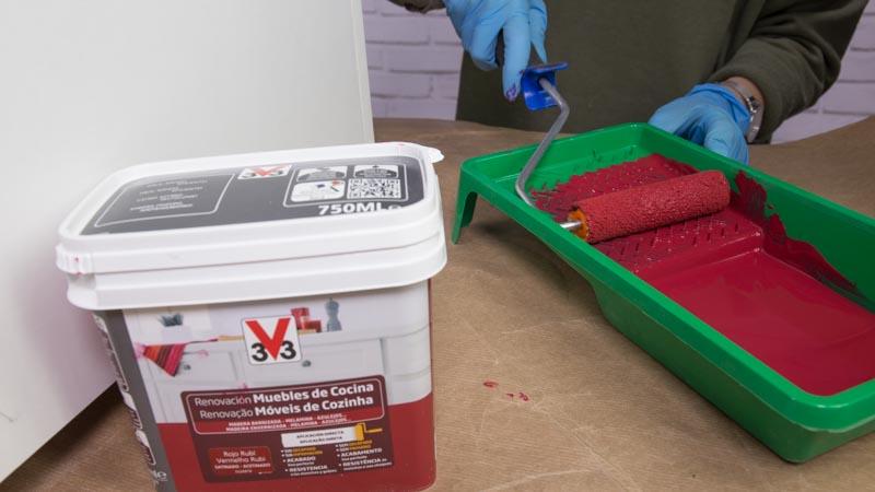 Esmalte de renovación de muebles de cocina de V33