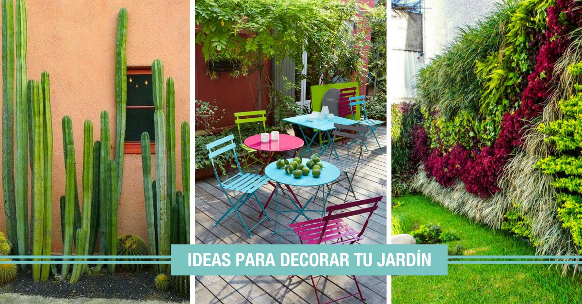Ideas Para Decorar Jardines 10 Propuestas Para Un Jardin Ideal - Ideas-para-decorar-jardin