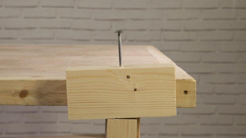 Atornillado de tornillos Spax en madera
