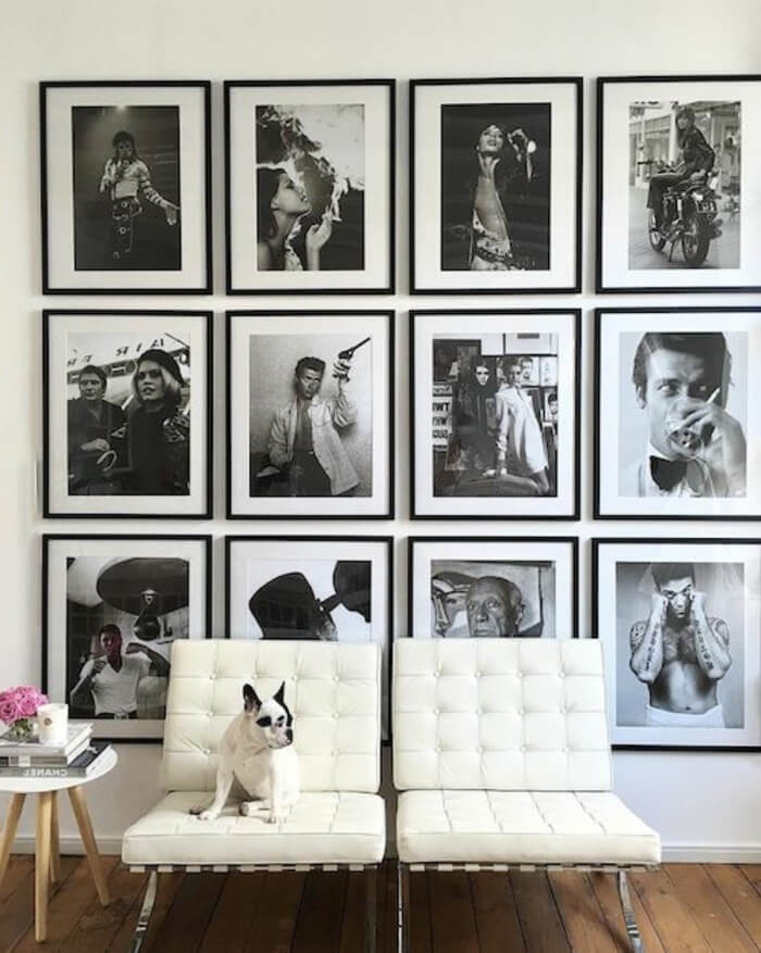 Fotos de celebrities: decoración de paredes