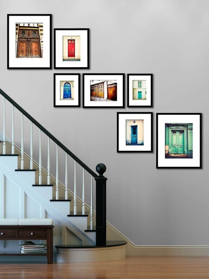 Fotos para la subida de una escalera