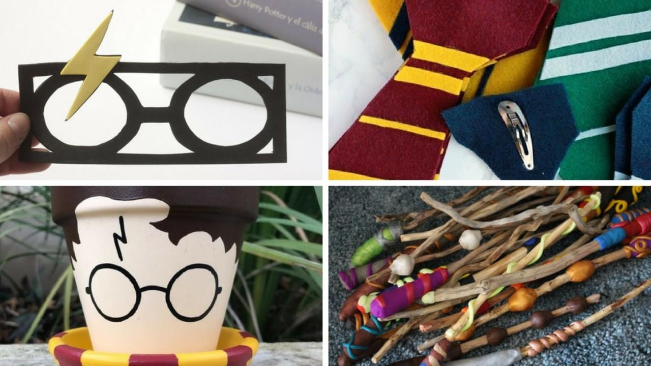 Harry Potter Manualidades No Aptas Para Muggles Handfie Diy