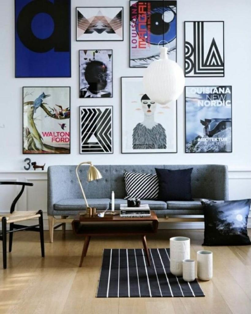 Decorar con poster la pared