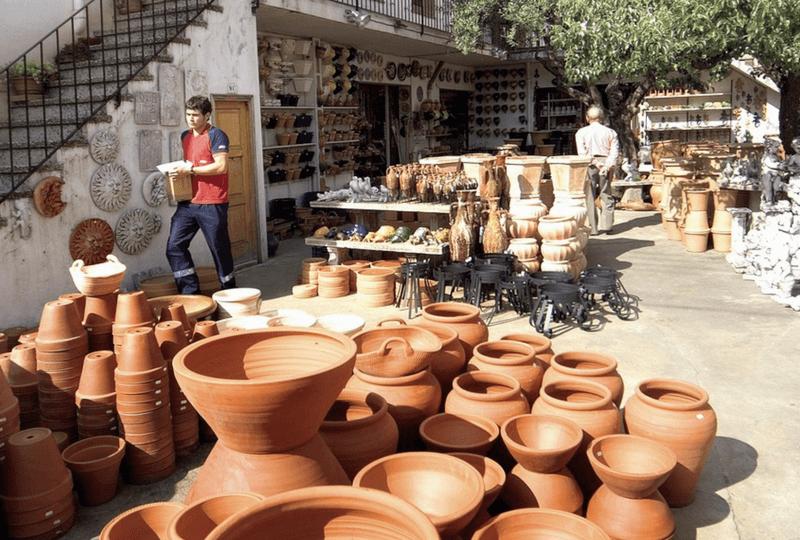 Feria de cerámica en La Bisbal