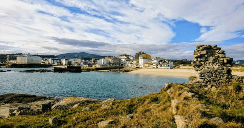 Playa de Cubelos, en Cervo, Galicia
