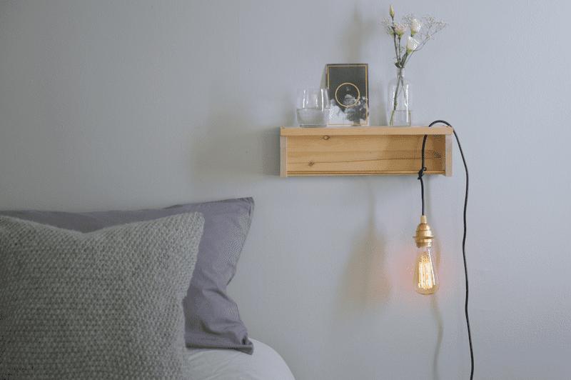 Estantes de madera diy 13 ideas para crear estantes caseros - Madera para estantes ...
