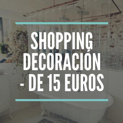 Artículos de decoracion en Amazon por menos de 15 euros