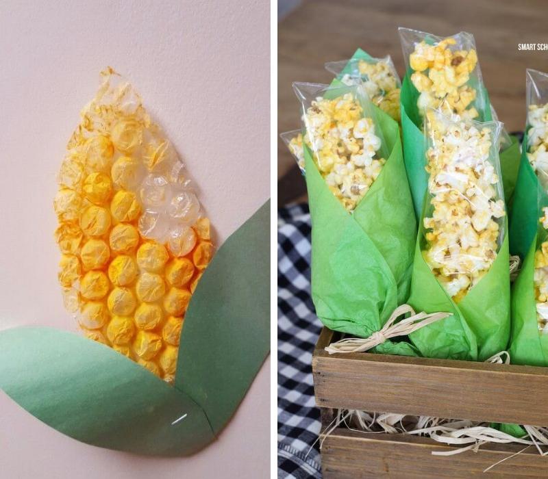 manualidades-de-otono-infantiles-con-maiz