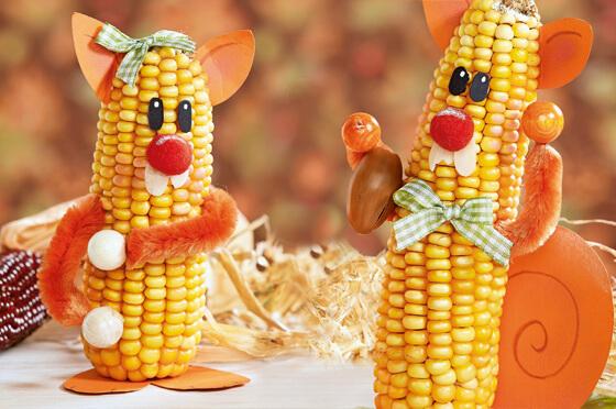 manualidades-de-otoño-infantiles-decorar-mazorcas-de-maíz
