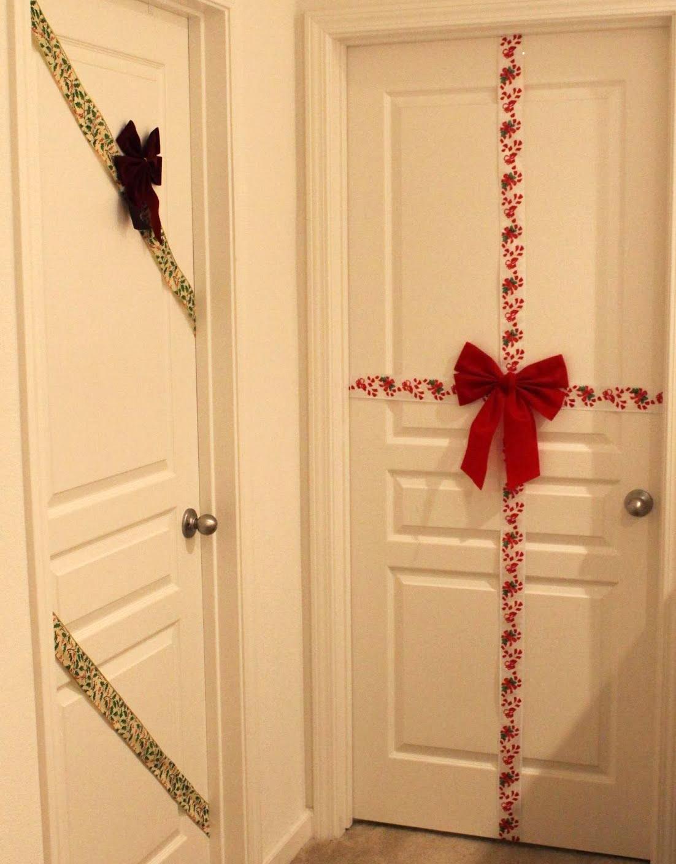Ideas Para Decorar Puertas En Navidad.Decoracion De Puertas En Navidad 12 Ideas Handfie