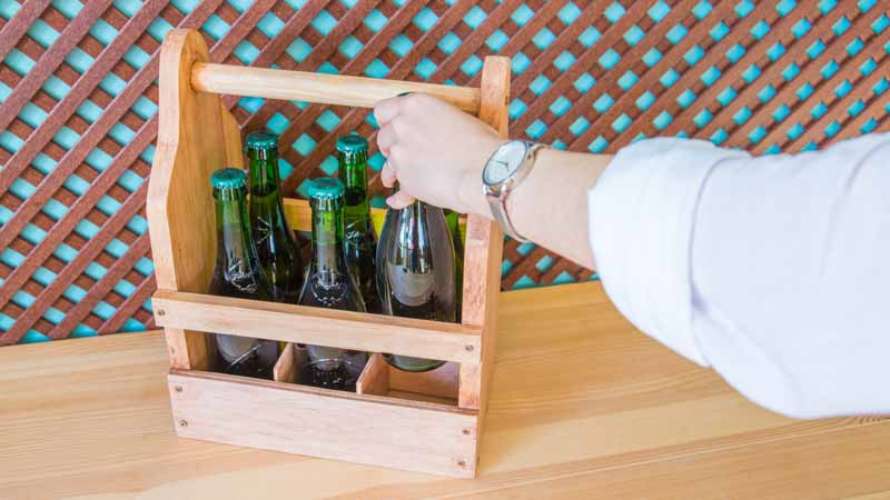 Caja para cervezas resultado