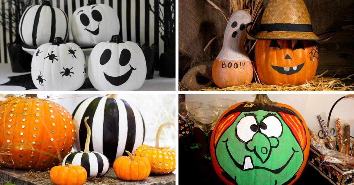 Calabazas de halloween 14 ideas para decorar calabazas - Decoracion calabazas para halloween ...