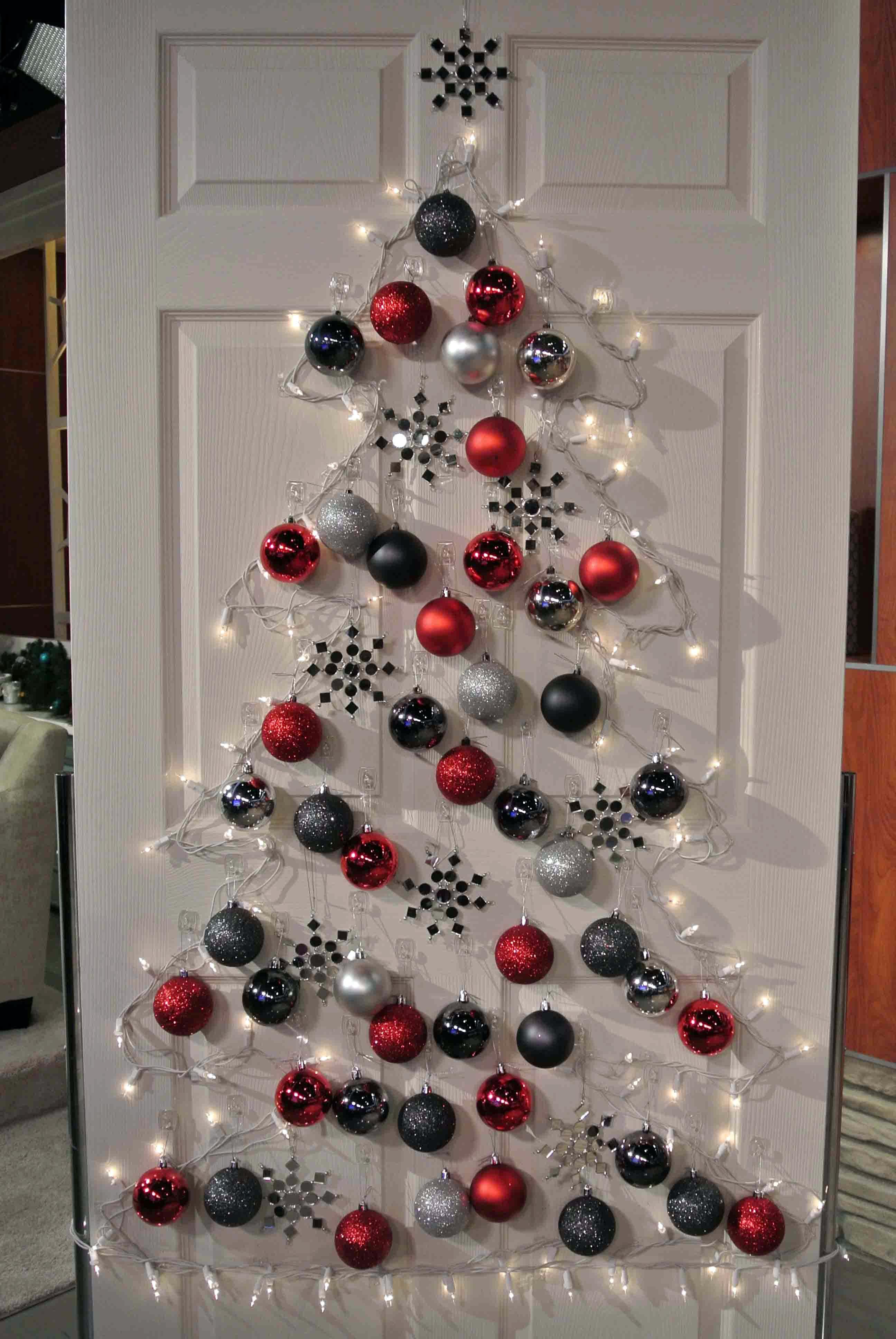 Ideas De Dibujos Para Navidad.Decoracion De Puertas En Navidad 12 Ideas Handfie
