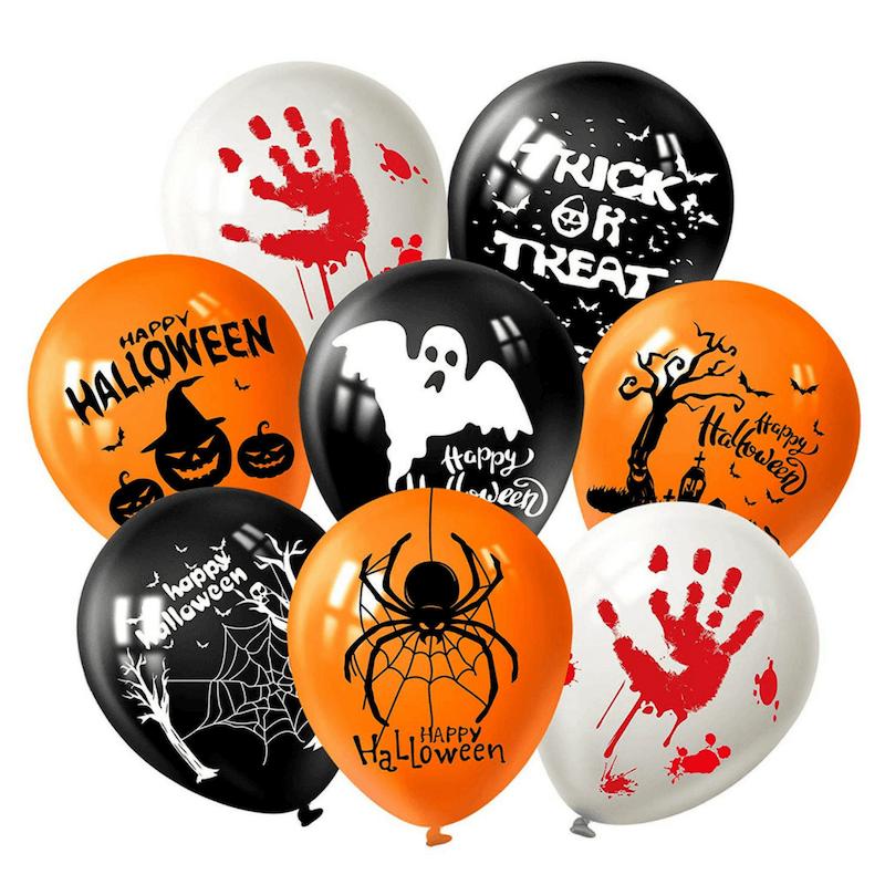 Globos decorativos para Halloween