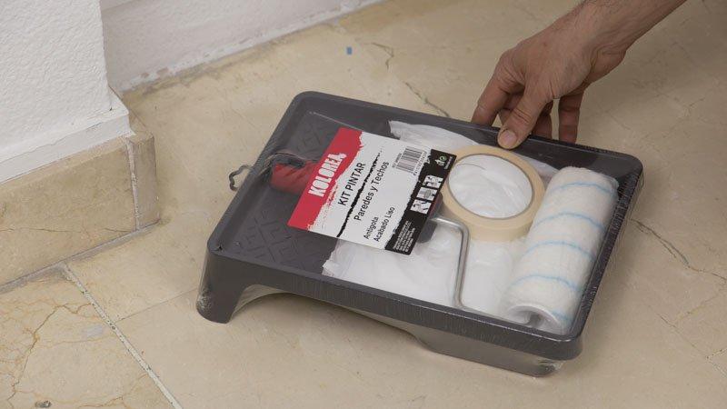 Kit de mantenimiento de paredes y techos